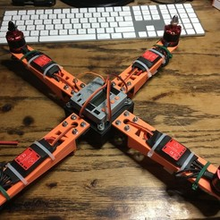 Download free 3D printer model Yet Another Quad Copter #YAQC, Andy12