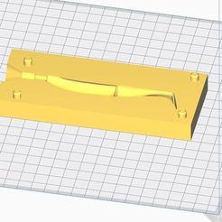 """Télécharger fichier STL Leurre oneup shad 4"""" • Objet pour impression 3D, seb86"""