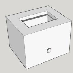 Plan 3D gratuit Boitier interrupteur (bouton poussoir), Ingenio122