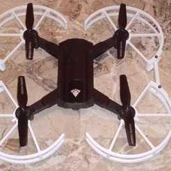 Descargar archivo 3D Protecciones de la hoja del dron SG900, LorenzoSalvi