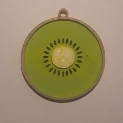 Descargar STL gratis llavero kiwi, Giara