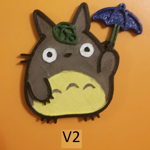Free 3d print files Totoro Pin, Giara