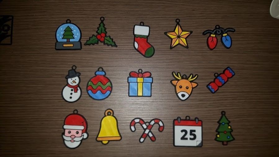 20171218_000829.jpg Download free STL file 15 christmas decorations • Object to 3D print, Giara