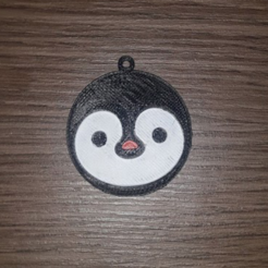 Free 3D printer model Penguin Keychain, Giara