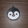 Capture d'écran 2018-01-02 à 11.14.56.png Download free STL file Penguin Keychain • 3D print template, Giara