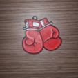 Free stl files Keychain boxing gloves, Giara