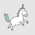 Free stl files Mr Wonderful Unicorn, Giara