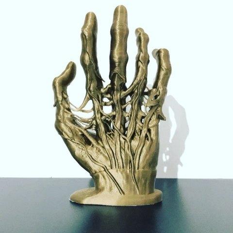 Zombie Hand 3D Print STL file, diegoripp