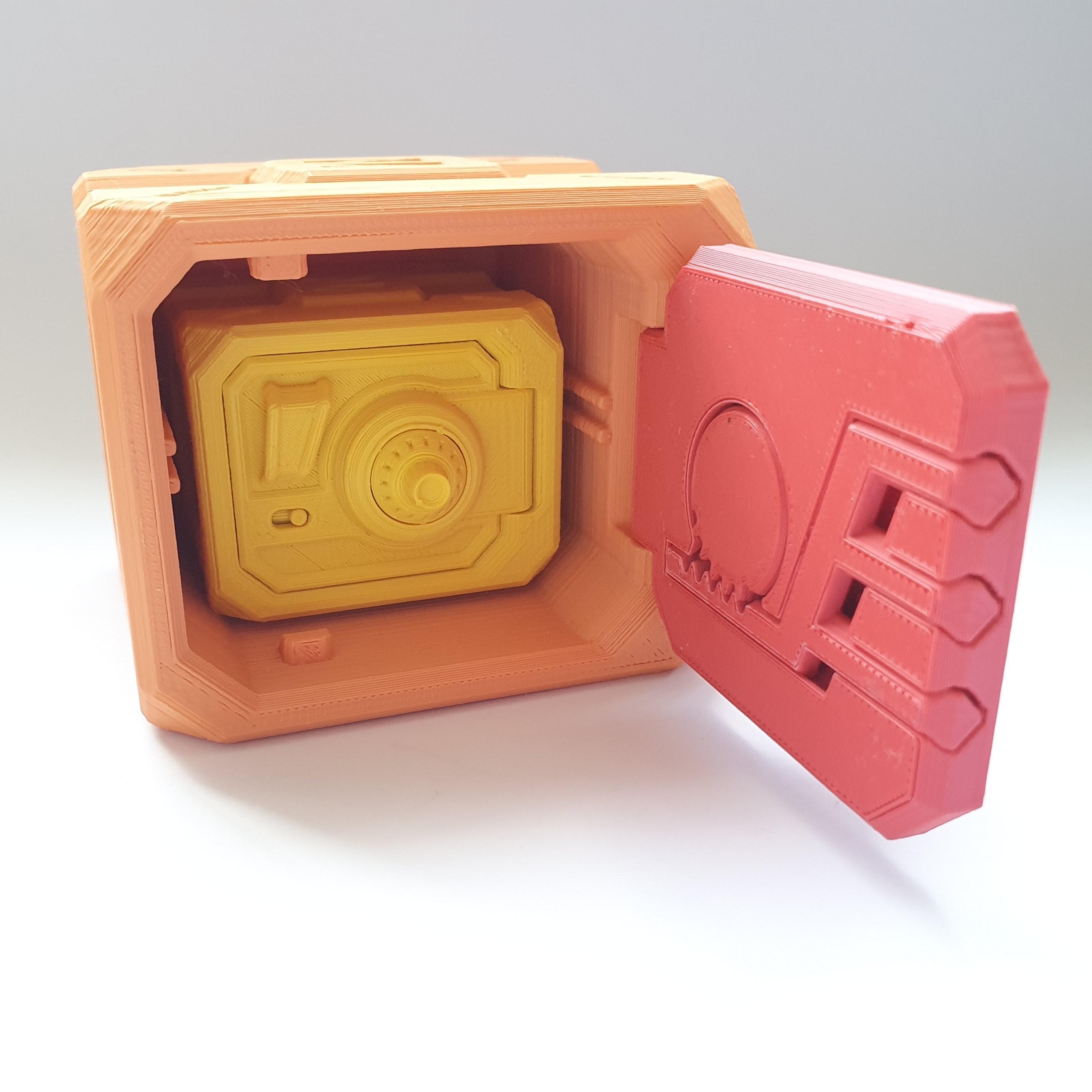 20200430_124936.jpg Descargar archivo STL gratis Caja de seguridad con puerta con llave • Diseño para la impresora 3D, DNAdesigns