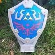 Descargar archivo STL El Escudo Hylian de Zelda BOTW • Objeto imprimible en 3D, DNAdesigns