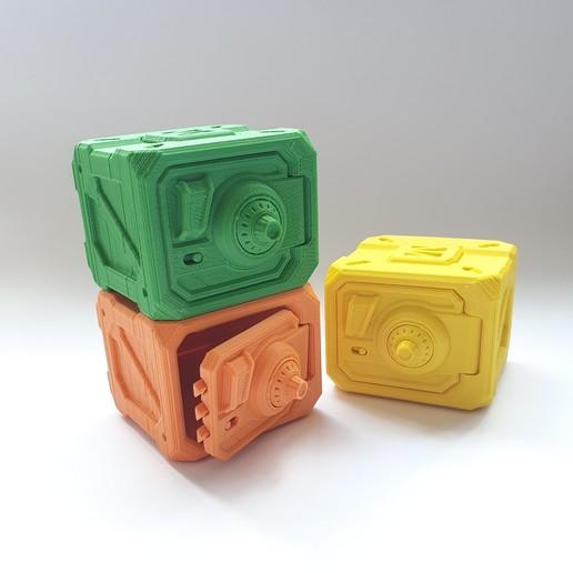 20200430_125033.jpg Descargar archivo STL gratis Caja de seguridad con puerta con llave • Diseño para la impresora 3D, DNAdesigns