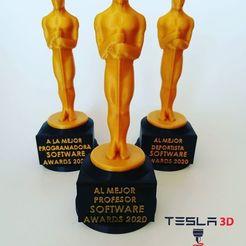Download STL file Oscar Award • 3D printer template, DanielDGuevara