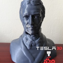 Download 3D printing designs Bust Carl Friedrich Gauss, DanielDGuevara