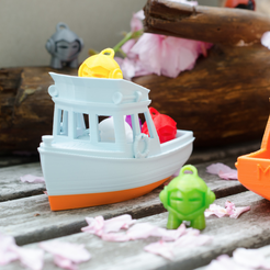 Free 3d printer model Marv - a small yacht for Marvin, vandragon_de
