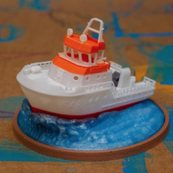 Free 3d printer files SAR - Search & Rescue boat, vandragon_de