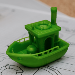 Free 3d printer designs BEN the floating BENCHMARK (Benchy), vandragon_de