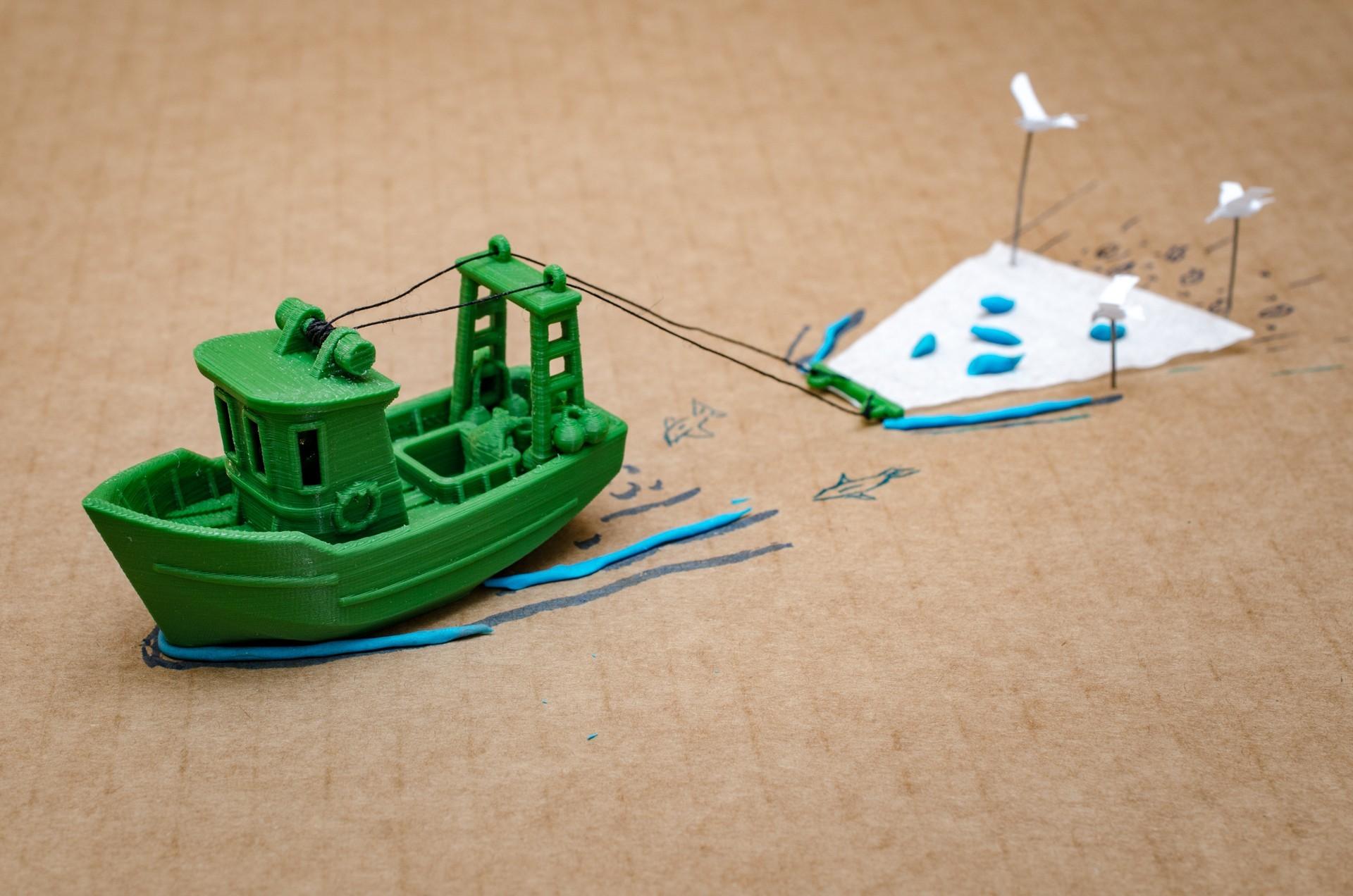 DSC_1594.jpg Télécharger fichier STL gratuit FIN le petit Trawler (banc visuel) • Modèle imprimable en 3D, vandragon_de