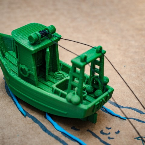 DSC_1608.jpg Télécharger fichier STL gratuit FIN le petit Trawler (banc visuel) • Modèle imprimable en 3D, vandragon_de