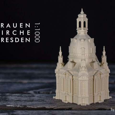 Free 3D printer files Frauenkirche Dresden, vandragon_de