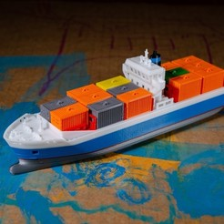 Download free STL file EMMA - a Maersk Ship, vandragon_de