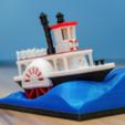 Capture d'écran 2018-02-27 à 17.55.24.png Télécharger fichier STL gratuit Ancien bateau à vapeur à roue à aubes avec présentoir (banc visuel) • Design pour imprimante 3D, vandragon_de