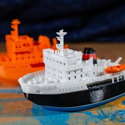 Free 3D printer files ICE - the icebreaker, vandragon_de