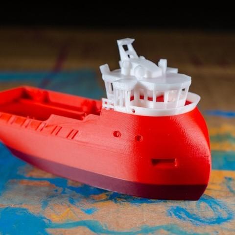543bd5a28c1e21dfa81b5f2f224017c6_display_large.jpg Download free STL file VOS - the Supply Ship • Object to 3D print, vandragon_de