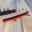 STL gratis RMS TITANIC - escala 1/1000, vandragon_de