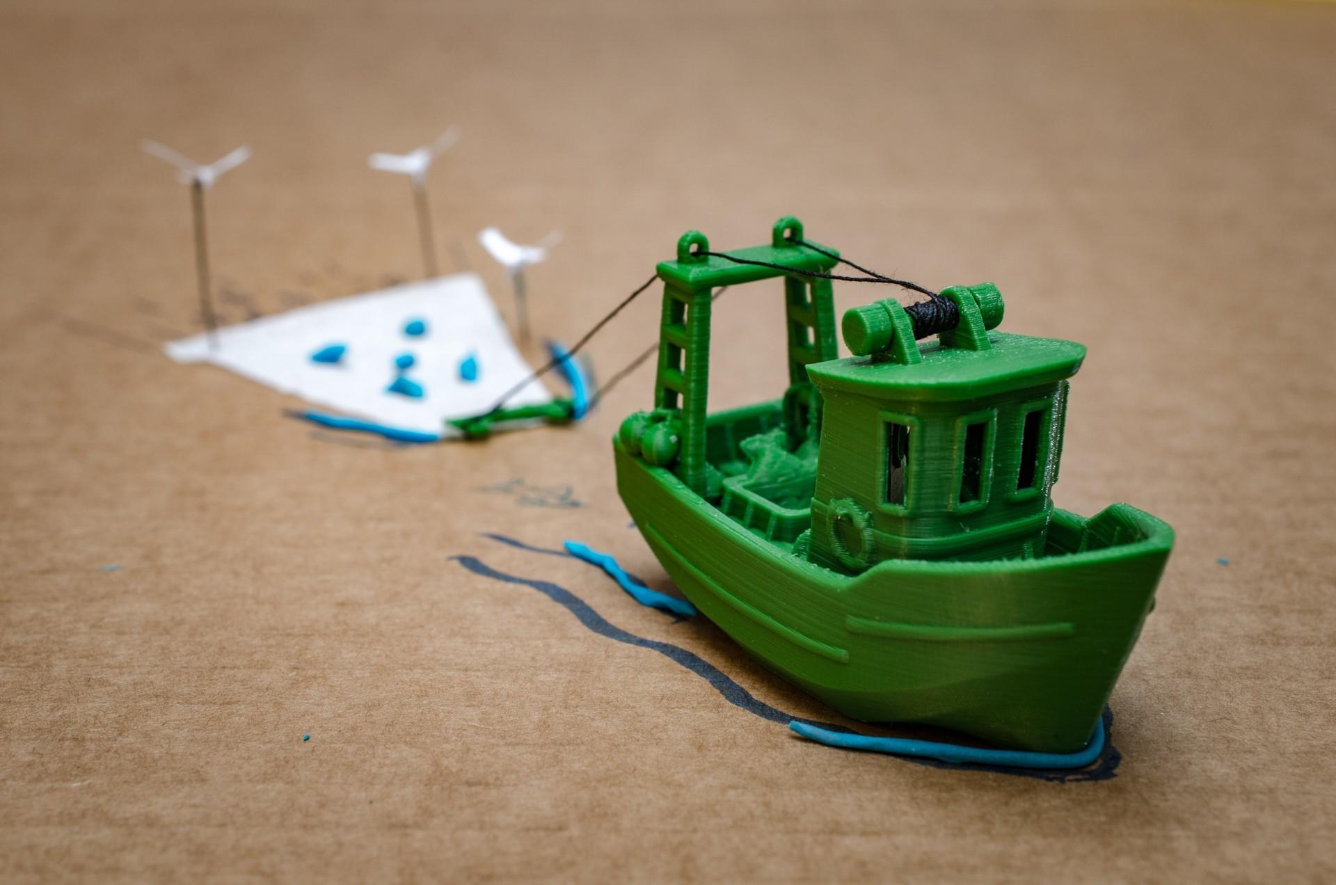 DSC_1598.jpg Télécharger fichier STL gratuit FIN le petit Trawler (banc visuel) • Modèle imprimable en 3D, vandragon_de