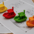 Download free STL file BEN the floating BENCHMARK (Benchy), vandragon_de