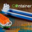 Download free 3D printer files COS -  the Container Ship, vandragon_de
