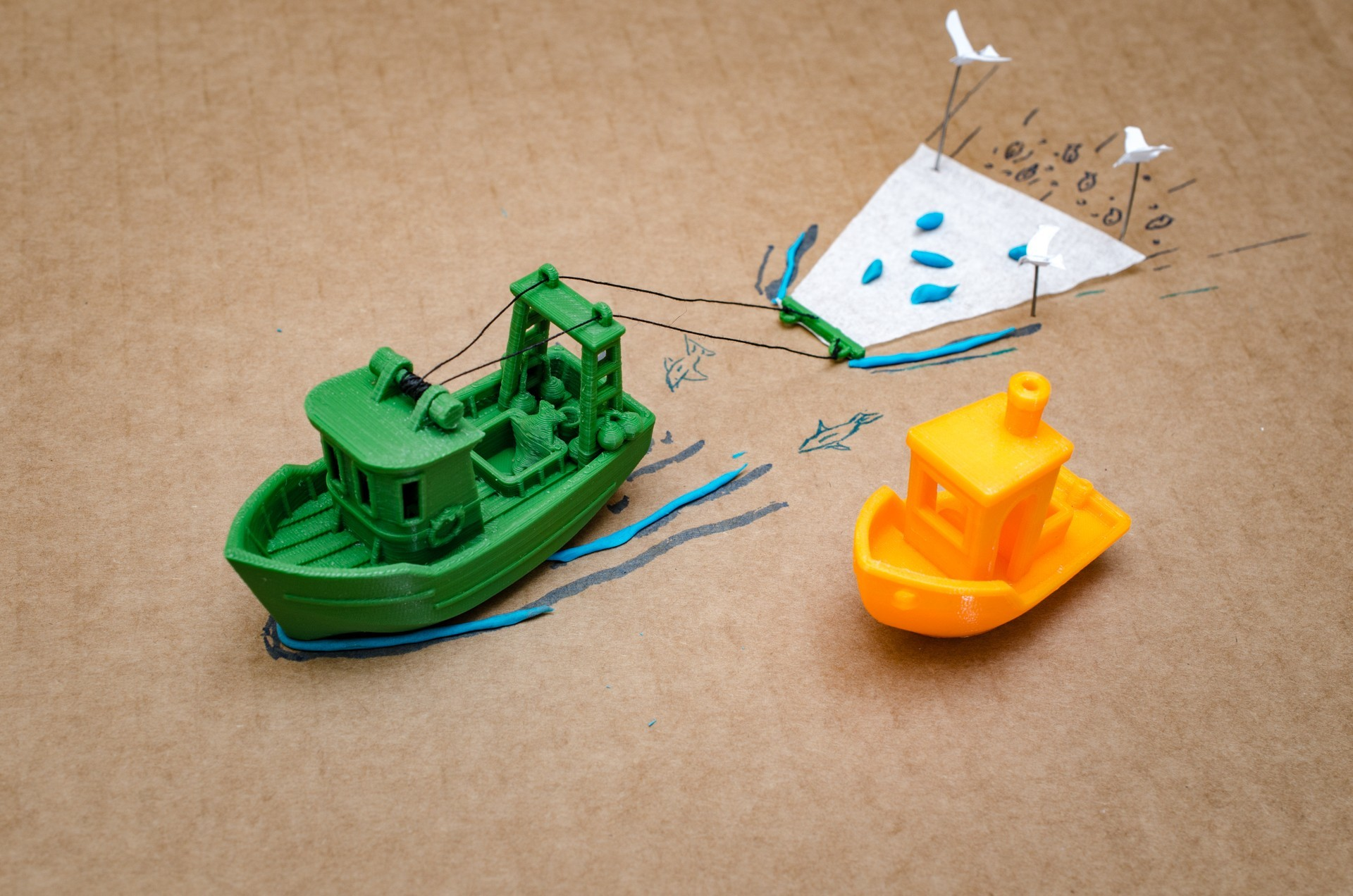 DSC_1616.jpg Télécharger fichier STL gratuit FIN le petit Trawler (banc visuel) • Modèle imprimable en 3D, vandragon_de