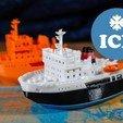 Download free 3D model ICE - the icebreaker, vandragon_de
