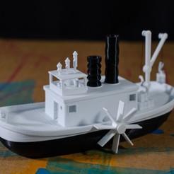 DSC_9620.jpg Download free STL file Steamboat Willi • 3D printable template, vandragon_de