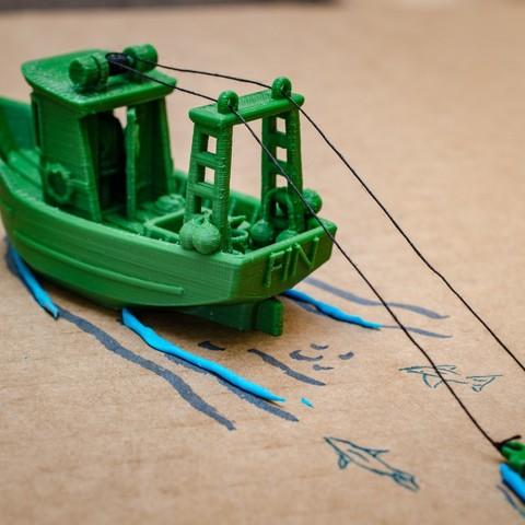 DSC_1610.jpg Télécharger fichier STL gratuit FIN le petit Trawler (banc visuel) • Modèle imprimable en 3D, vandragon_de
