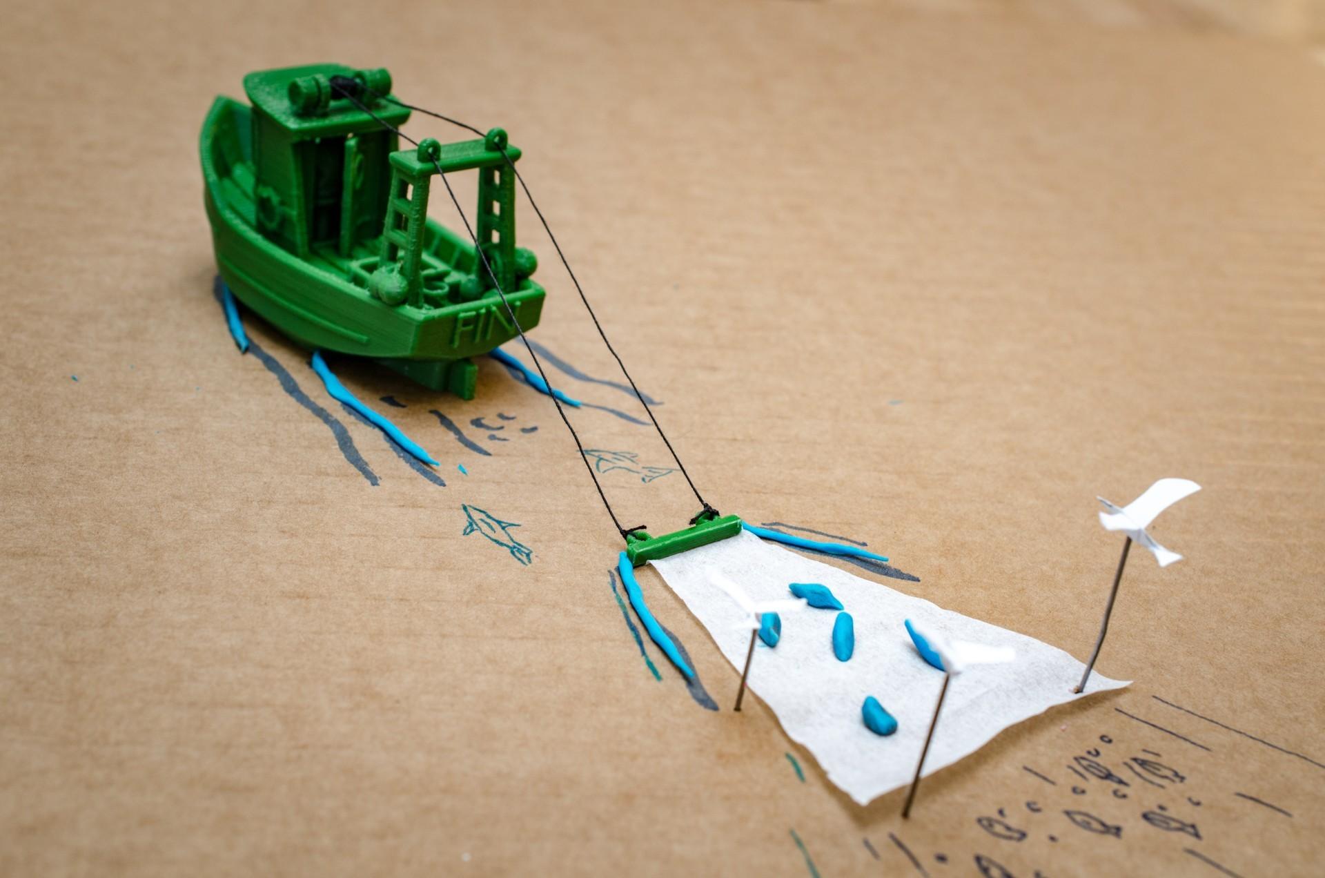 DSC_1607.jpg Télécharger fichier STL gratuit FIN le petit Trawler (banc visuel) • Modèle imprimable en 3D, vandragon_de