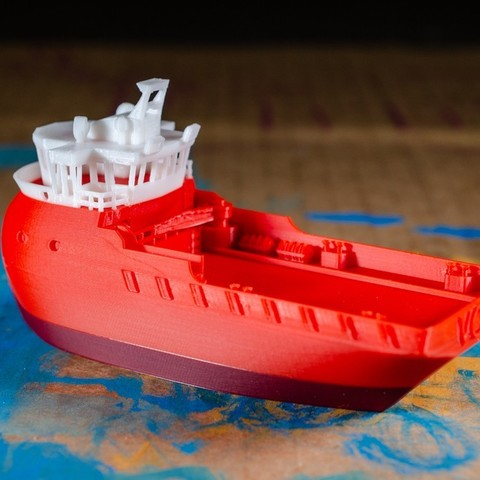 4c9446d5232894d513c9e4a852fdee67_display_large.jpg Download free STL file VOS - the Supply Ship • Object to 3D print, vandragon_de