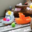 Free 3D printer model Marv - a small yacht for Marvin, vandragon_de