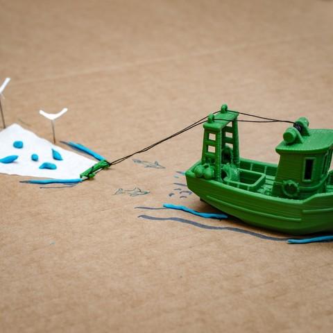 DSC_1596-Bearbeitet.jpg Télécharger fichier STL gratuit FIN le petit Trawler (banc visuel) • Modèle imprimable en 3D, vandragon_de