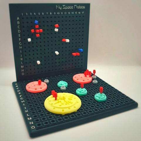 Find_My_Planets_6a_OK.jpg Download free STL file Find My Planets - Guessing Game (Battleship style) • 3D printer object, Relicae