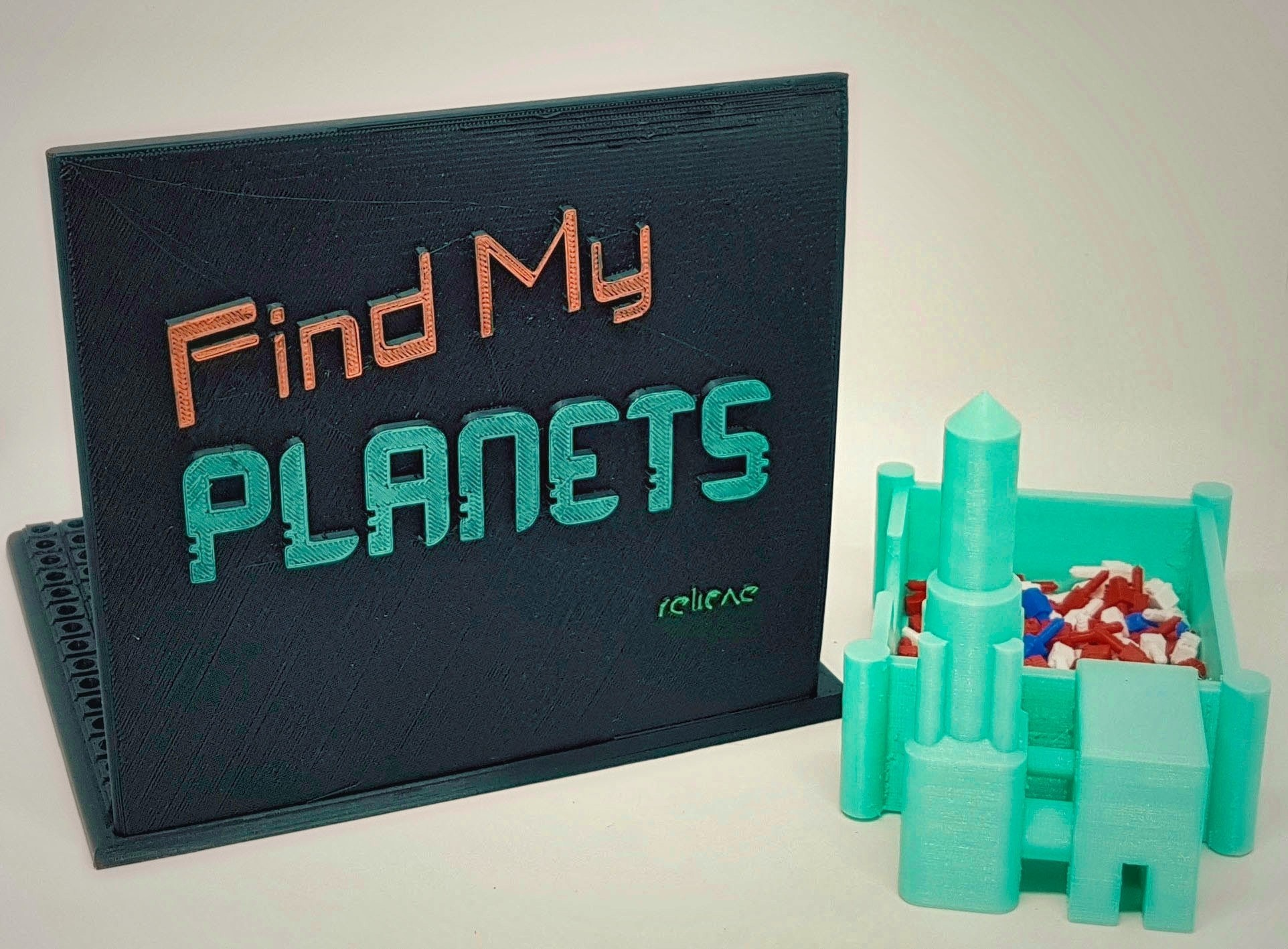 Find_My_Planets_3a_OK.jpg Download free STL file Find My Planets - Guessing Game (Battleship style) • 3D printer object, Relicae