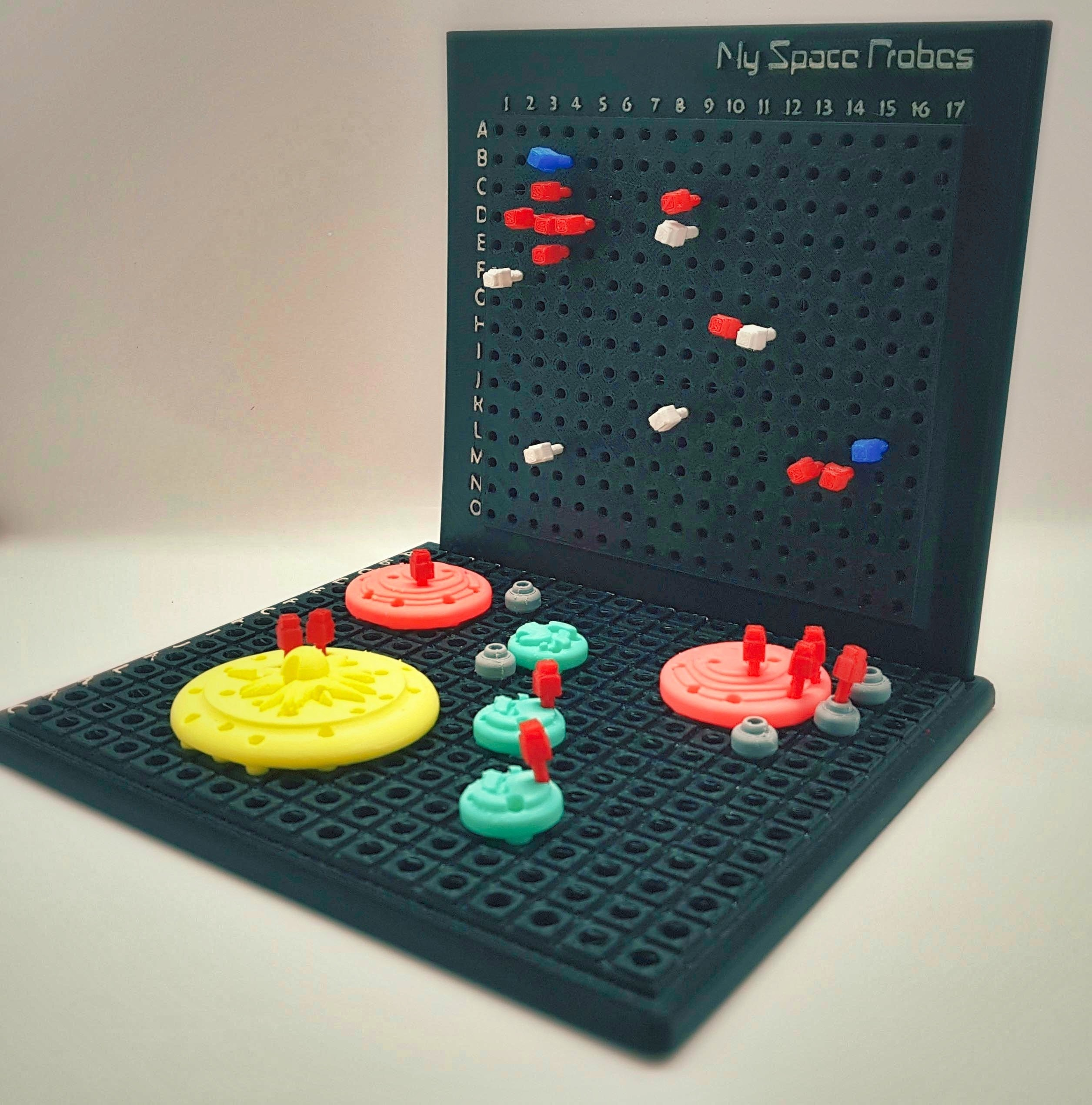 Find_My_Planets_1a_OK.jpg Download free STL file Find My Planets - Guessing Game (Battleship style) • 3D printer object, Relicae