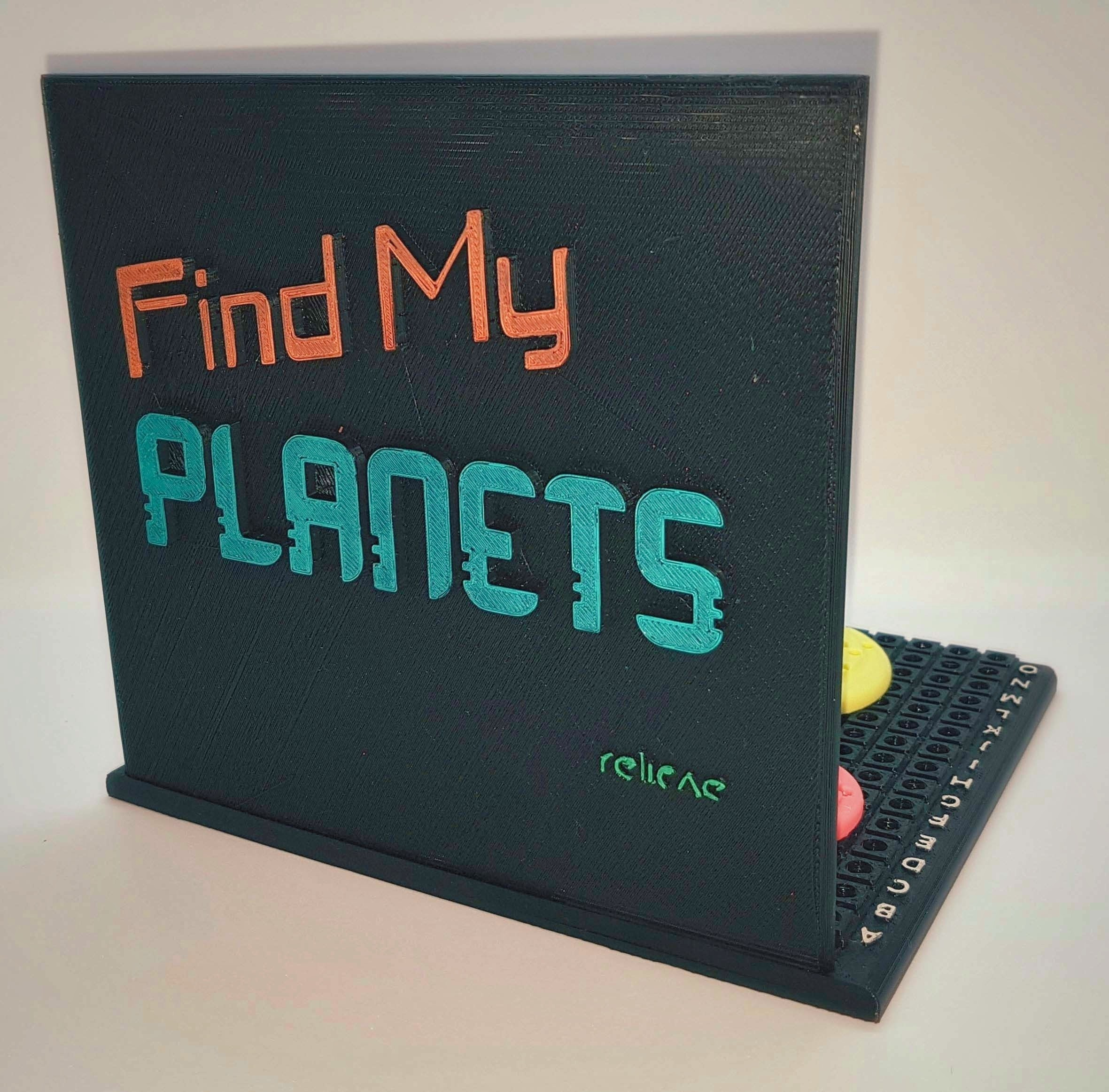 Find_My_Planets_2a_OK.jpg Download free STL file Find My Planets - Guessing Game (Battleship style) • 3D printer object, Relicae