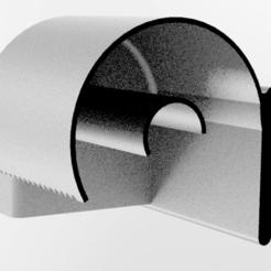 modelos 3d gratis Soporte para papel higiénico, zvyagind