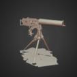 Download free 3D printer model Vickers MK 1 heavy machine gun, ca. 1900, AucklandMuseum