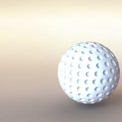 3d print files Sports Golf ball, 3DDweller