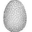 egg.png Télécharger fichier STL œuf voronoi • Objet à imprimer en 3D, juanpix