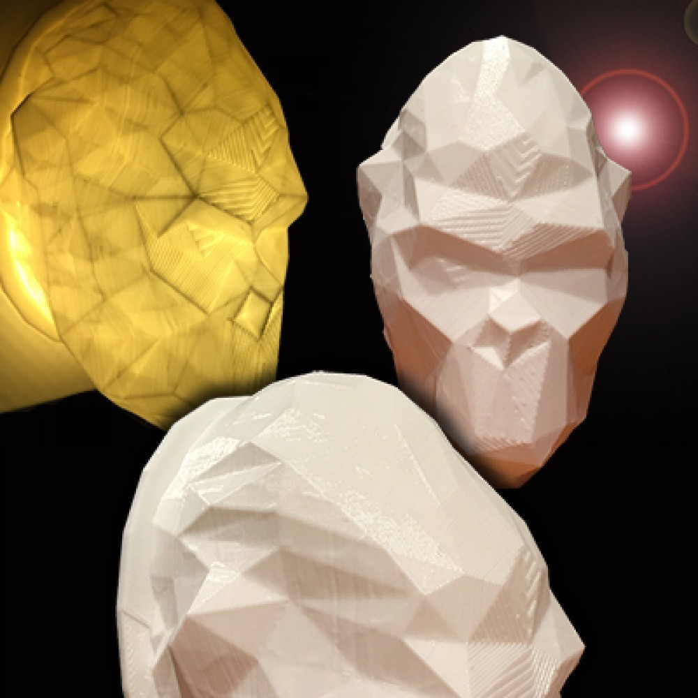 kong.jpg Download STL file kong head • 3D print design, juanpix
