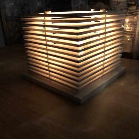 Fichier impression 3D lampe, juanpix
