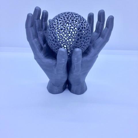 3D printer files grouped hands, juanpix